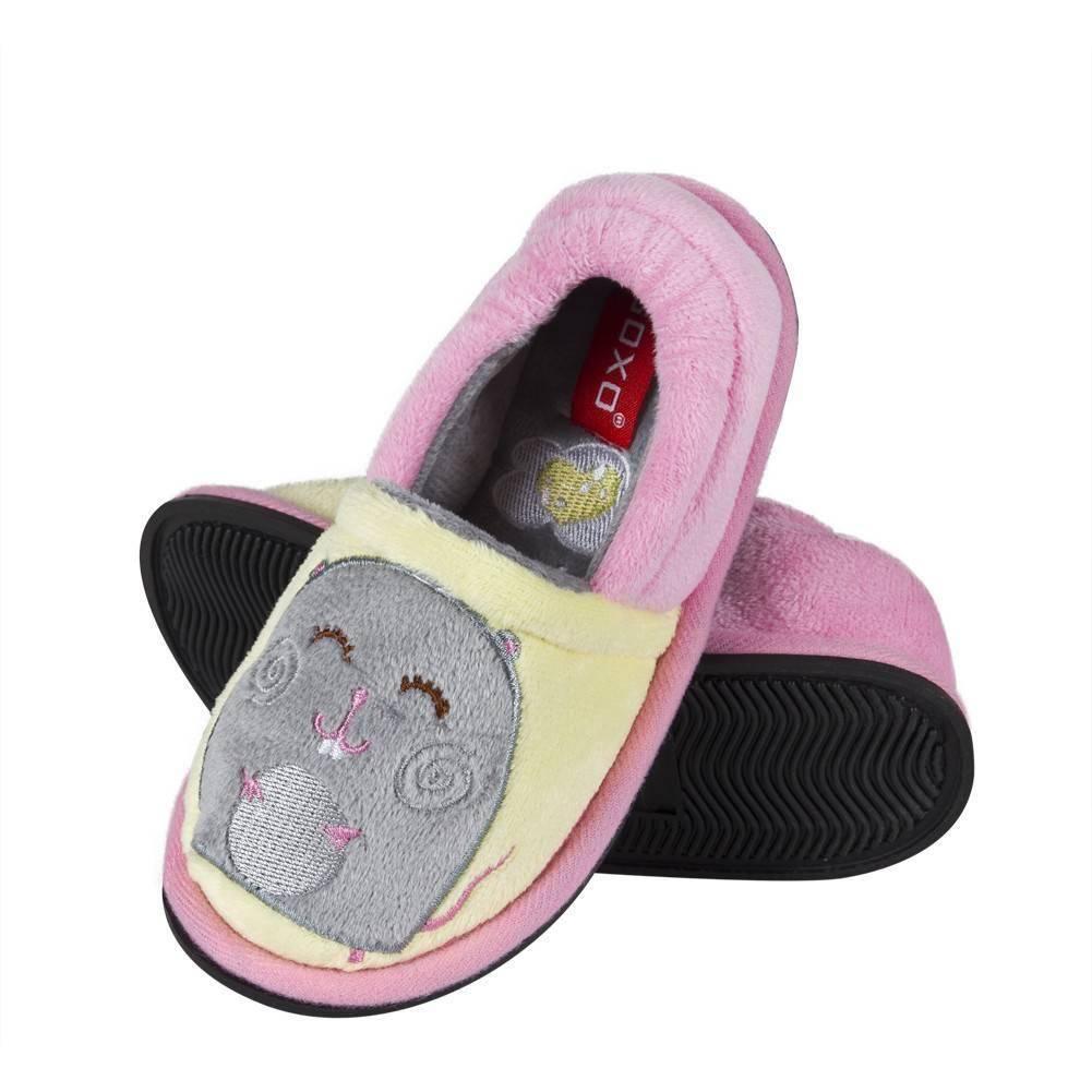 sale retailer 28786 fcee5 Pantofole da bambina SOXO suola TPR multicolore
