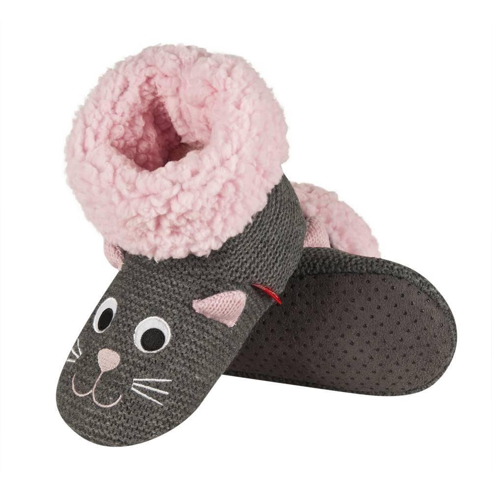 finest selection 484f3 3814f Pantofole per bambini SOXO ragazze maglia del mouse
