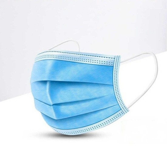 10 pieces - Disposable three-layer masks