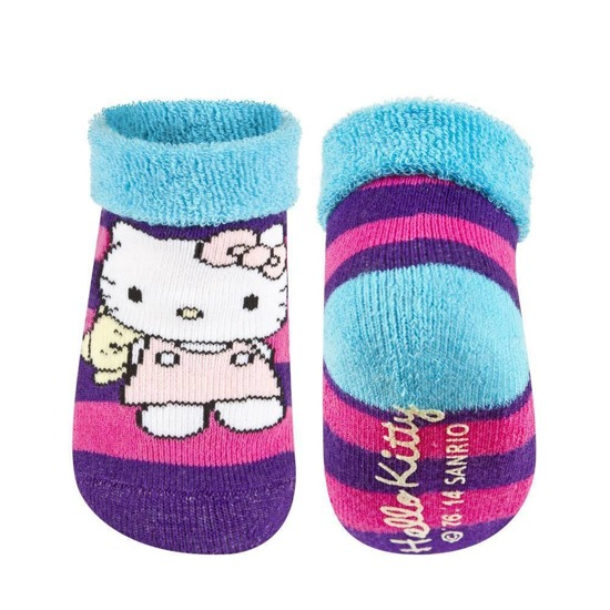 Calzini da bebè femmina classici HELLO KITTY Hello Kitty suola ABS multicolore